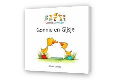 Cover afbeelding van Gonnie en Gijsje