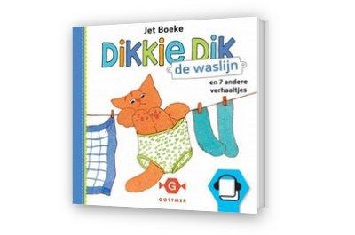 Cover afbeelding van Dikkie Dik - de waslijn