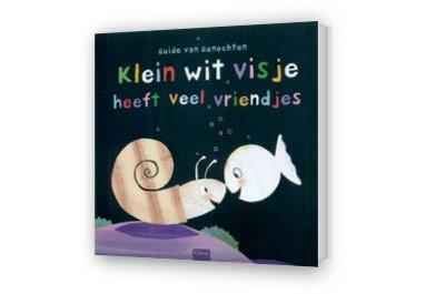 Cover afbeelding van Klein wit visje heeft veel vriendjes