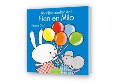 Cover afbeelding van Kleurtjes zoeken met Fien en Milo