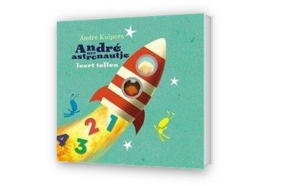 Cover afbeelding van André het astronautje leert tellen
