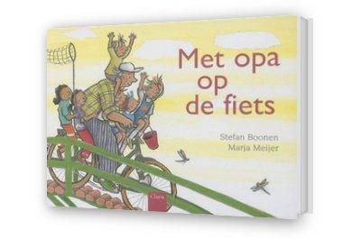 Cover afbeelding van Met opa op de fiets