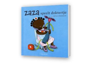 Cover afbeelding van Zaza speelt doktertje