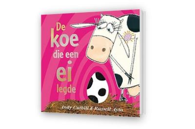 Cover afbeelding van De koe die een ei legde